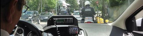 La patrouille de police secours est appelée pour un vol par effraction à Bischheim (Photo @PNationale67 / Twitter)