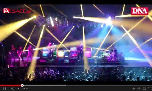 Vidéo : revoir le concert de M à la Foire aux Vins