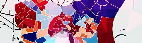 Élections municipales Mars 208 Mars 2014 - Qu'es-ce qui a changé ? La carte interactive.