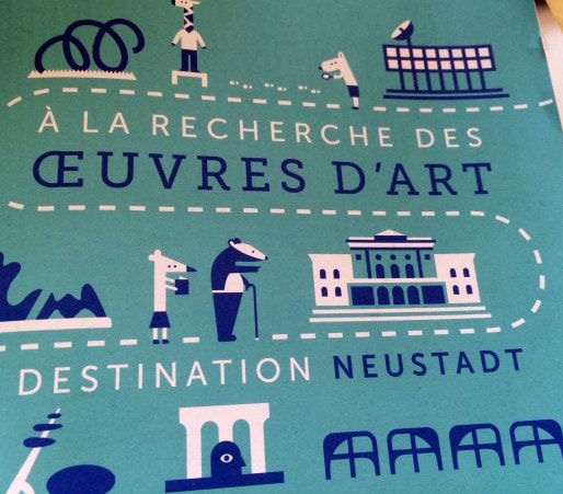 La Neustadt est truffée d'oeuvres d'art... On suit le guide! (BR/RUE89 Strasbourg)