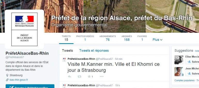 La préfecture du Bas-Rhin débarque sur Twitter et Facebook