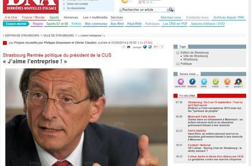 Robert Herrmann veut le GCO et pas plus de fonctionnaires