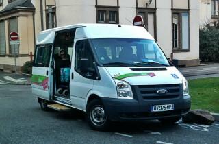 Le service Mobistras, taxi à la demande pour personnes handicapées, est victime de son succès. (Photo Kevin B. / Wikimedia Commons / cc)