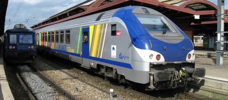 Le trafic TER Alsace perturbé suite à une agression