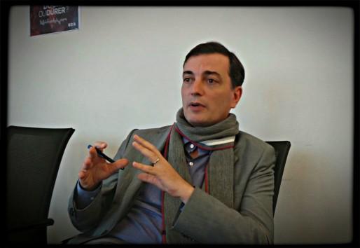 """Alain Fontanel : """"le budget de la culture est sanctuarisé mais tout le monde devra faire des efforts"""" (Photo PF / Rue89 Strasbourg)"""