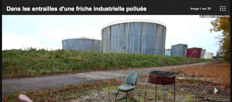 Dans les entrailles de la raffinerie de Reichstett devenue friche industrielle