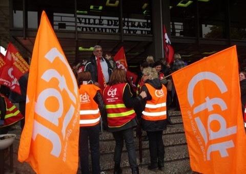 Grève générale à la CUS et la CTS vendredi 28 novembre