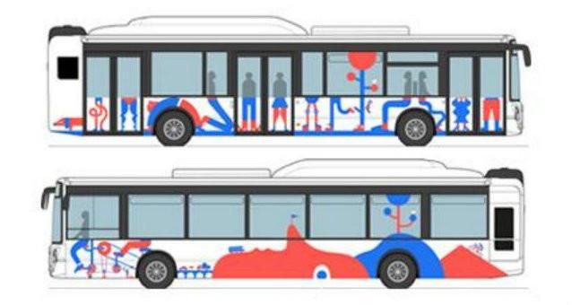 Encore un vote : la décoration de 15 bus est connue