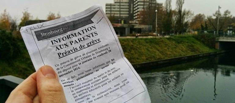 En grève, les agents de la CUS posent la question de l'ampleur du service public