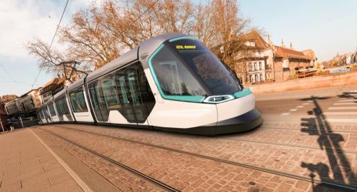 Les habitants de l'ouest de Strasbourg auront-ils la chance d'emprunter les futurs tram et leur nouveau nez ? (document CTS)