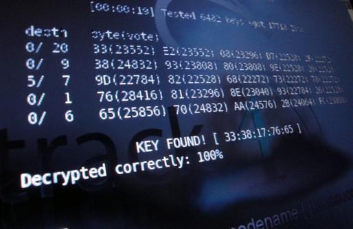 Décryptage d'une clé d'accès à un réseau WiFi (Photo Alex Lomix / FlickR / cc)