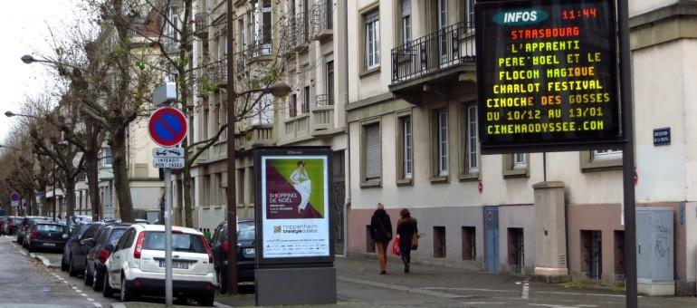 La publicité en ville encore bien accrochée à Strasbourg