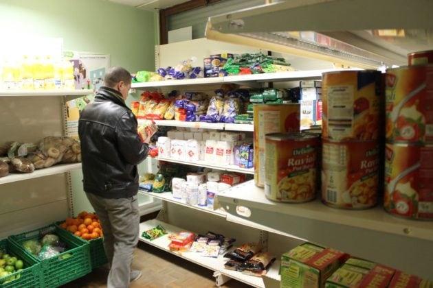 Actuellement, 84 étudiants font leurs courses dans l'épicerie solidaire du campus. (Photo Maurane Speroni)