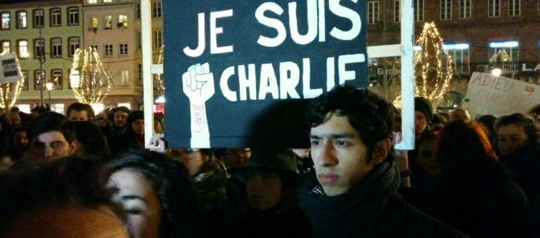 Charlie Hebdo : deux rassemblements ce vendredi soir
