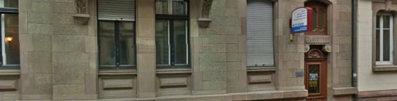 Discrètement installée près de l'avenue des Vosges, Accord avait également une antenne à Haguenau. (Photo Google Maps)
