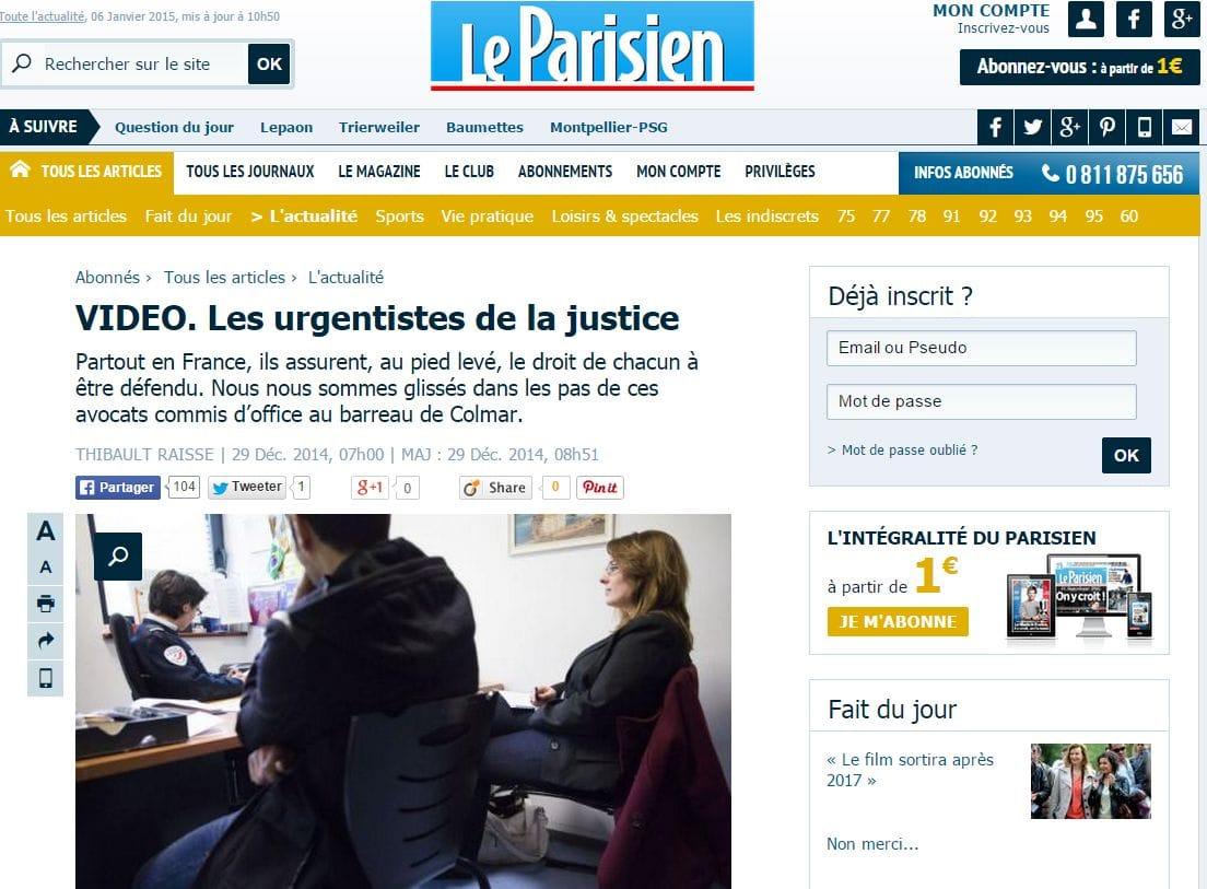 Avocats commis d 39 office les urgentistes de la justice - Avocat commis d office prix ...