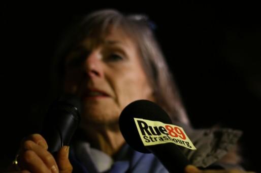 Françoise Schöller, présidente du Club de la Presse. (Photo Pokaa)