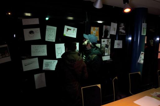 """Dans cette """"conférence de rédaction"""" improvisée, l'espace culturel de Vendenheim."""