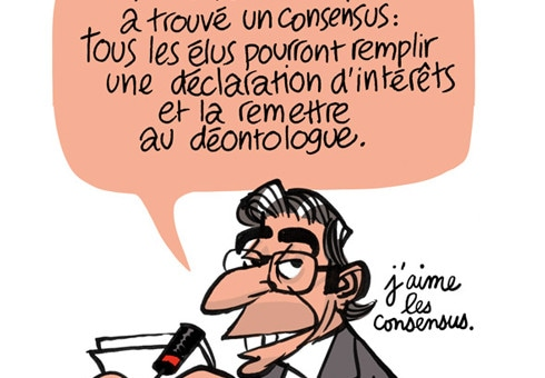 Large consensus pour la «transparence» à Strasbourg…