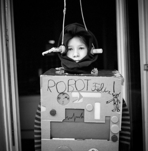 Robot Félix (Photo Pascal Bastien)