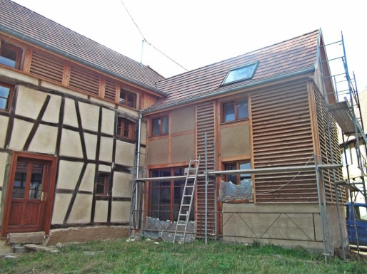 Rénovation et extension d'une maison traditionnelle à Obermodern (Crédit - Claude Eichwald)