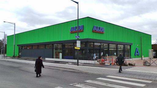 Le nouveau magasin Aldi de Hautepierre, 1000 références à prix cassés, mais pas seulement les prix (Photo PF / Rue89 Strasbourg)