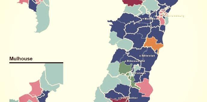 Élections départementales en Alsace : découvrez vos candidats