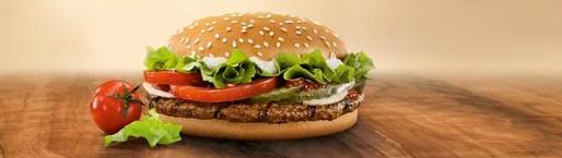 Le Whooper de Burger King. Vous pensez qu'il ne s'agit que d'un burger... erreur... (doc remis)