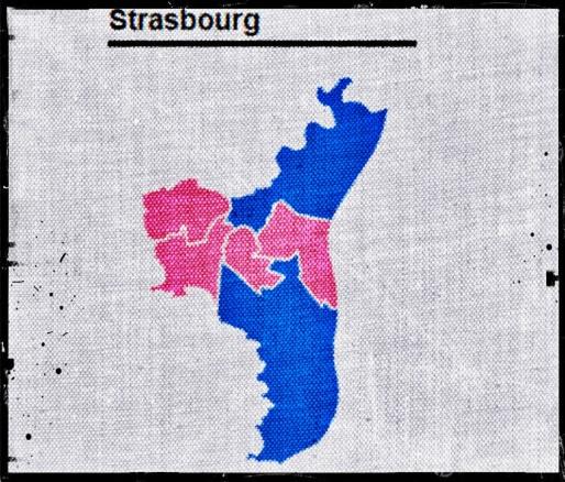 Le PS conforte ses positions à Strasbourg.