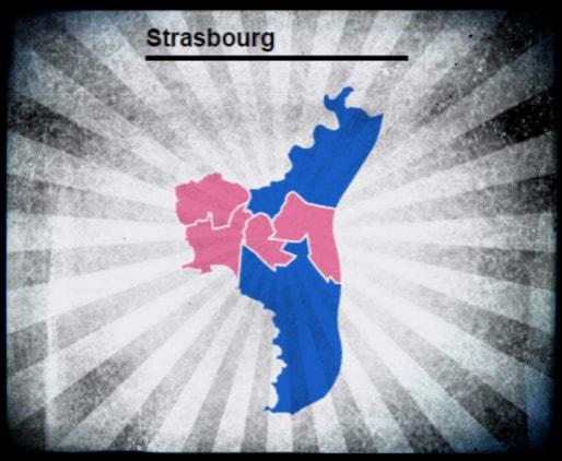 Le PS favori pour rafler 8 voire 10 des 12 sièges possibles à Strasbourg