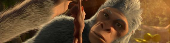 La naissance d'un simien pas les autres va accélérer l'évolution vers l'humanité