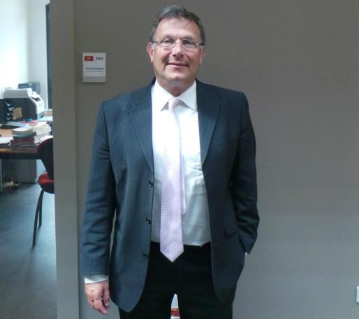 Raphaël Nisand à la tête de l'opposition socialiste entre 2011 et 2015 au département du Bas-Rhin. (Photo JFG / Rue89 Strasbourg)