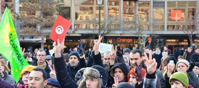 Rassemblement de soutien au peuple tunisien mercredi