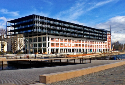 Le Shadok est un investissement de 6,5 millions d'euros financés à hauteur de 1,6 million d'euros par l'État (Photo JFG / Rue89 Strasbourg)