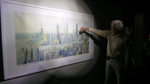 Shanghaï, polluée en 2015, apaisée en 2115 (Photo PF / Rue89 Strasbourg / cc)