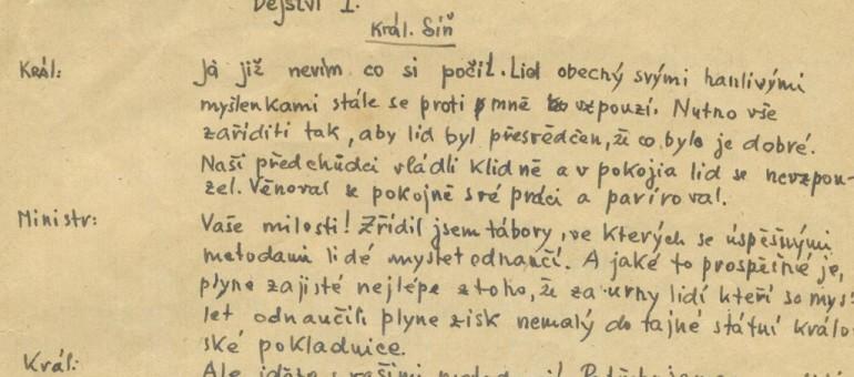 L'incroyable histoire de la pièce de théâtre écrite dans un camp de concentration par un enfant