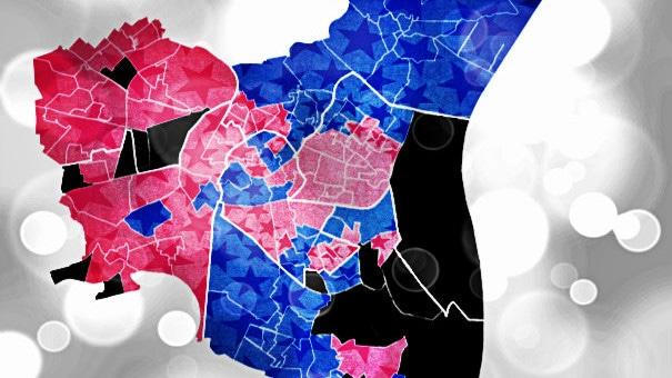 Départementales : la carte des résultats de tous les bureaux de vote à Strasbourg