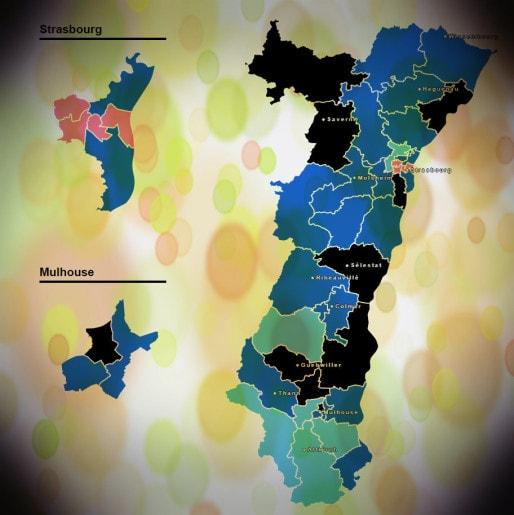 carte des départementales 2015