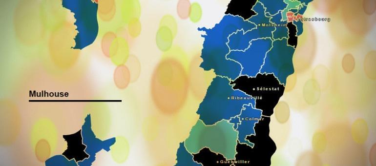 Départementales : le FN fait le plein en Alsace, la gauche s'effondre