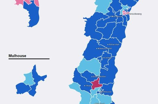 Départementales : la droite fait barrage au FN en Alsace