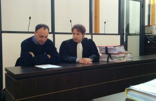 Le Dr Raphaël Moog est défendu par Me Bernard Alexandre (Photo PF / Rue89 Strasbourg / cc)