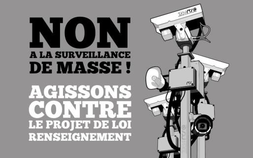 Le projet de loi de surveillance fait craindre une surveillance généralisée qui échappe au contrôle de la Justice (doc. remis)