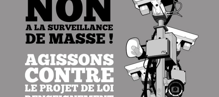 Lettre ouverte aux députés d'ALCA : «Ne votez pas la loi sur le renseignement»