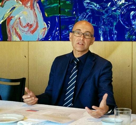 Frédéric Bierry, nouveau président du conseil départemental du Bas-Rhin (Photo PF / Rue89 Strasbourg)