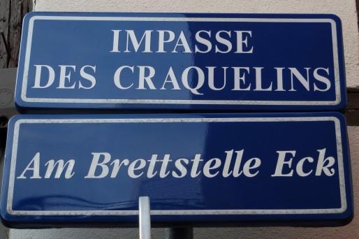 """Krutenau, le """"coin des bretzels"""" a souffert d'une traduction injuste. (Photo Marc Gruber)"""