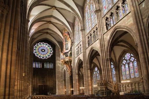 Intérieur Cathédrale Strasbourg (©Les photos de Suzanne & Pierre)