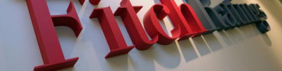 Le logo de l'agence Fitch Ratings (-)