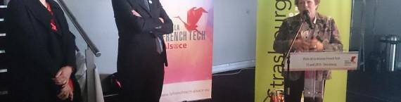 Responsable de la mission French Tech, David Monteau est venu sentir le pouls de l'économique numérique à l'UGC (Photo Sandrine André)