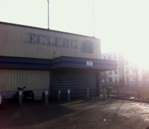 Le Leclerc Express a fermé ses portes début avril. (Photo :  OG/Rue89Strasbourg)