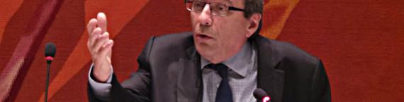 Roland Ries, lors du conseil municipal de décembre 2014 (Photo PF / Rue89 Strasbourg / cc)